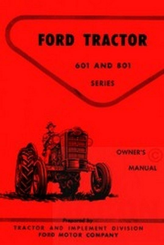 ford   series tractor owner operator manual ebay