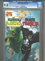 Project Superpowers #1 CGC 9.8 (2008) Alex Ross Cover