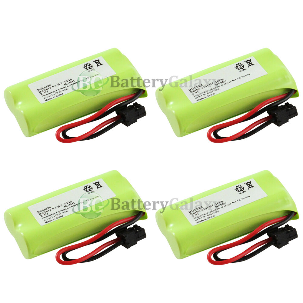 4 cordless home phone rechargeable battery for uniden bt 1016 bt1016 1 100 sold ebay. Black Bedroom Furniture Sets. Home Design Ideas