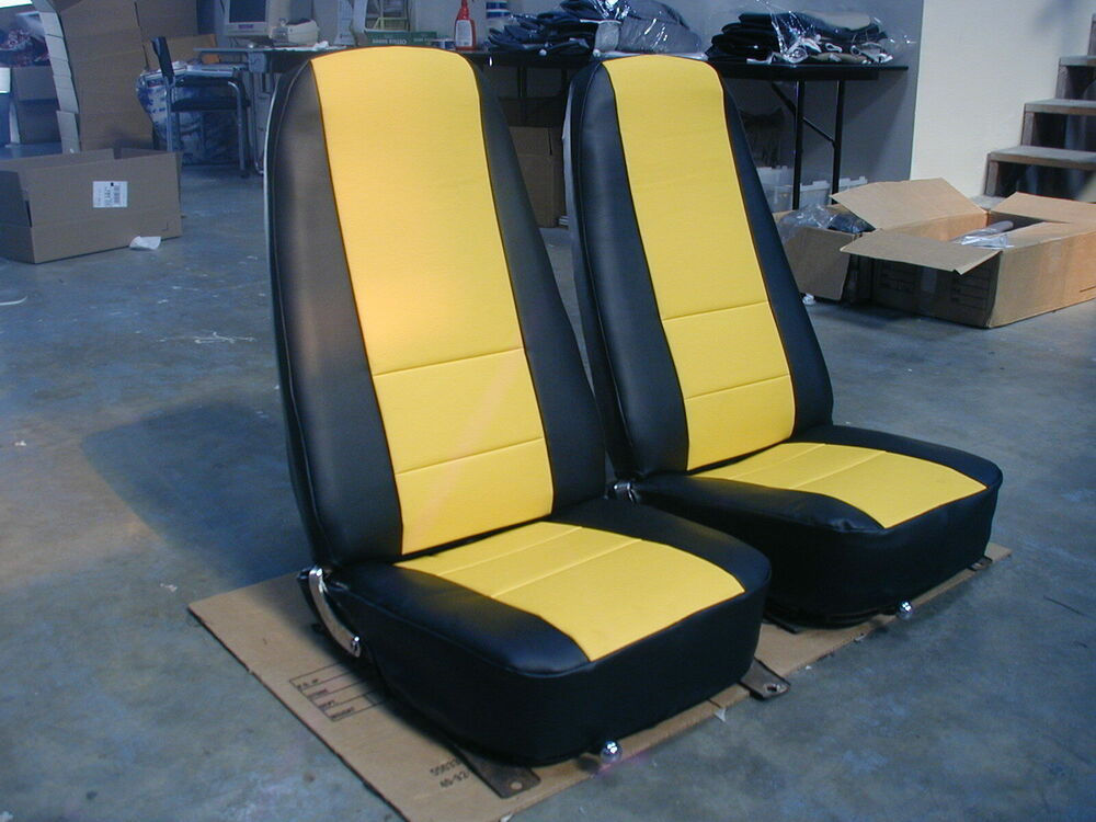 S L on Chevy Truck Seat Covers