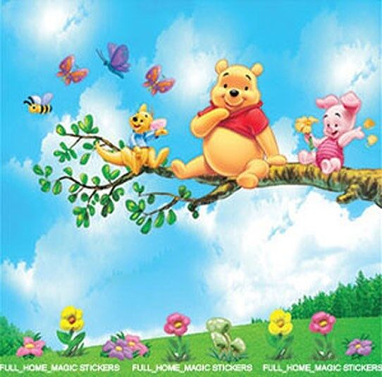Winnie The Pooh Wall Stickers Decal Nursery/Kids Room Part 77