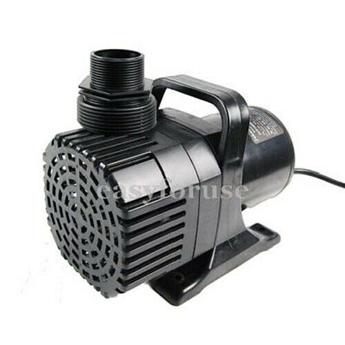 New submersible water fall koi pond pump 7900gph ebay for Koi pond water pump