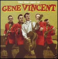 GENE VINCENT (2 CD) BEST OF ~ CLASSIC 50's / 60's ~ GREATEST HITS *NEW*