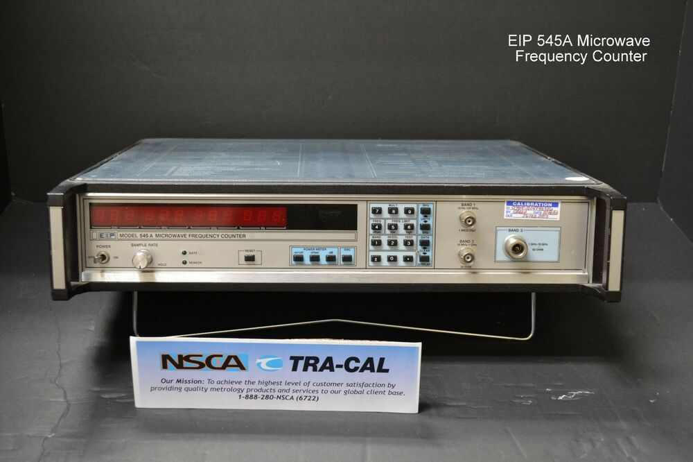 Photo Eye Frequency Counter : Eip model a microwave frequency counter w opt ebay