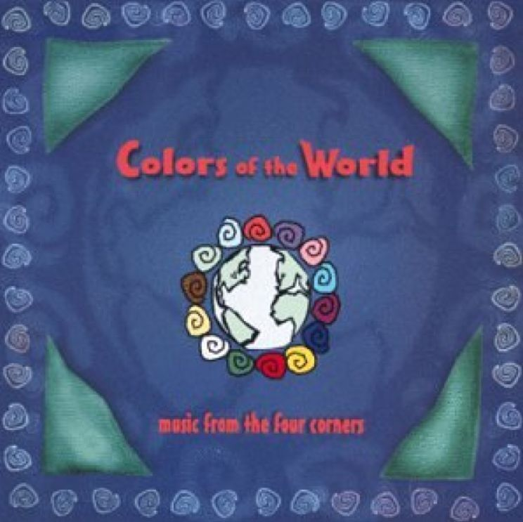 """Literary News From All Corners Of The World: New! """"COLORS OF THE WORLD"""" Music From Four Corners (CD"""