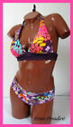 MAILLOT DE BAIN BIKINI FEMME TRIANGLE VIOLET 2 PIECES 36 S NEUF SWIMSUIT WOMAN