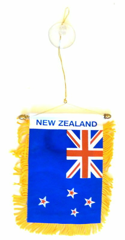 new zealand mini banner new zealand flag ebay. Black Bedroom Furniture Sets. Home Design Ideas