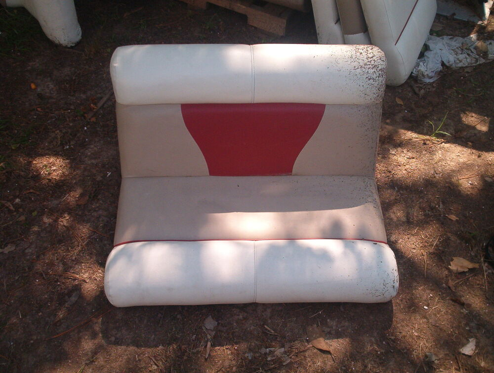 Pontoon Boat Bench Seat Replacement Covers Ebay