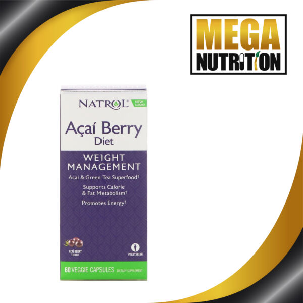 ACAI Berry Diet Weight Loss Formula with GREEN TEA ECGC