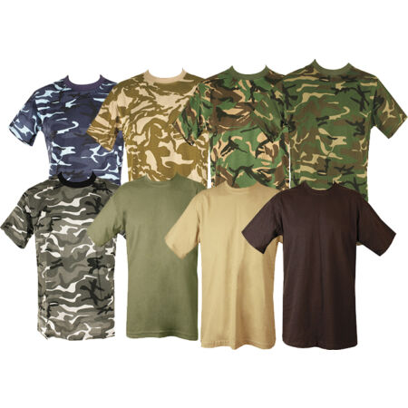 img-MENS MILITARY TACTICAL CAMOUFLAGE CAMO T SHIRT ARMY COMBAT NEW COTTON HUNTING