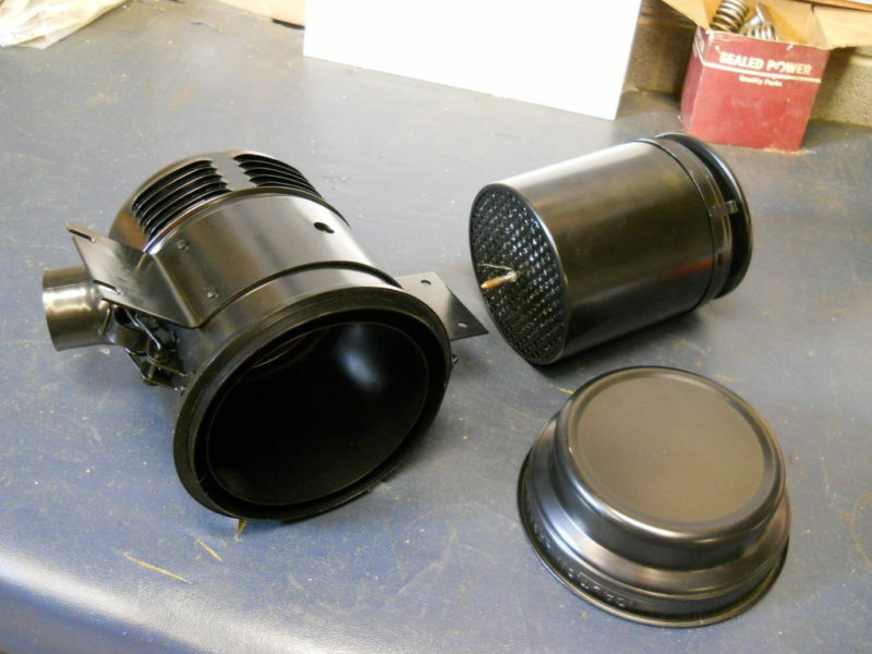 F30 Oil Bath Air Cleaner : Jeep willys mb gpw cj a m air cleaner oil bath ebay