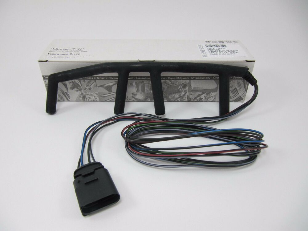 Vw 4 Wire Glow Plug Wiring Harness Genuine New Mk4 Golf