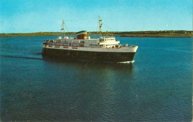 1950s Chrome Motor Vessel Bluenose Car Ferry Maine Ebay