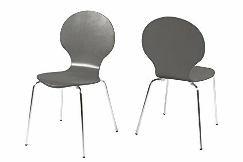 Stackable Dining Office Chairs Many Colours Chrome