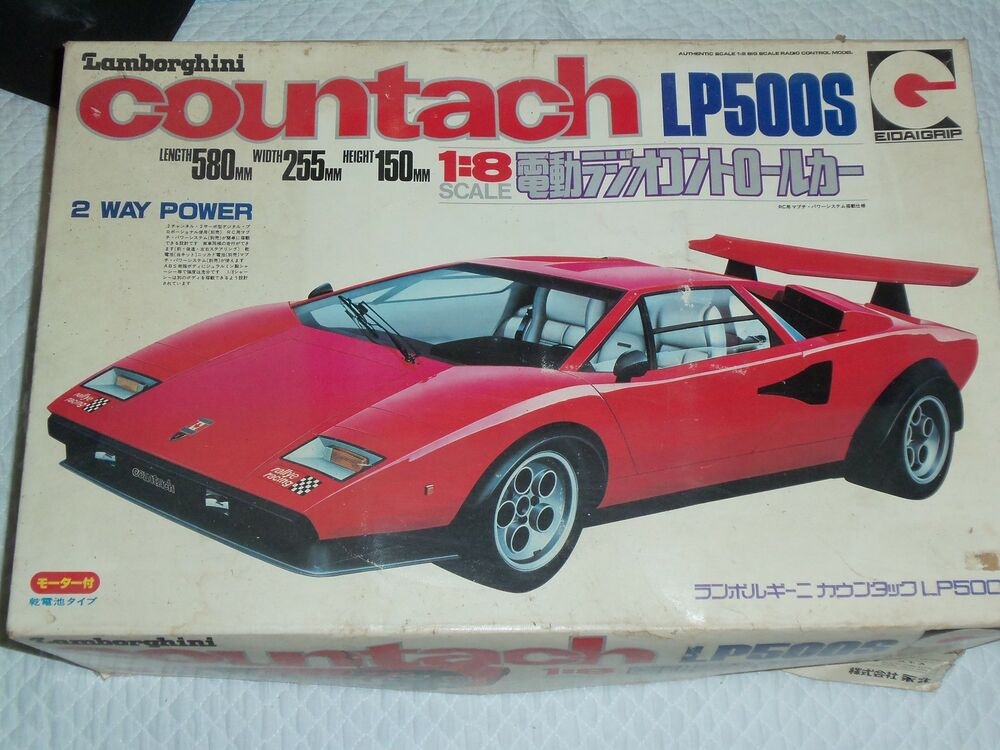 eidaigrip 1 8 lamborghini countach lp500s rc kit nib ebay. Black Bedroom Furniture Sets. Home Design Ideas