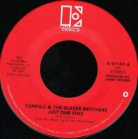 """TOMPALL AND THE GLASER BROTHERS just one time 7"""" WS EX/ usa"""
