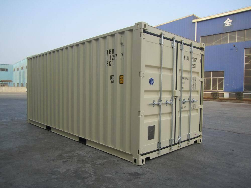 storage containers new 20 39 cargo shipping container ebay. Black Bedroom Furniture Sets. Home Design Ideas