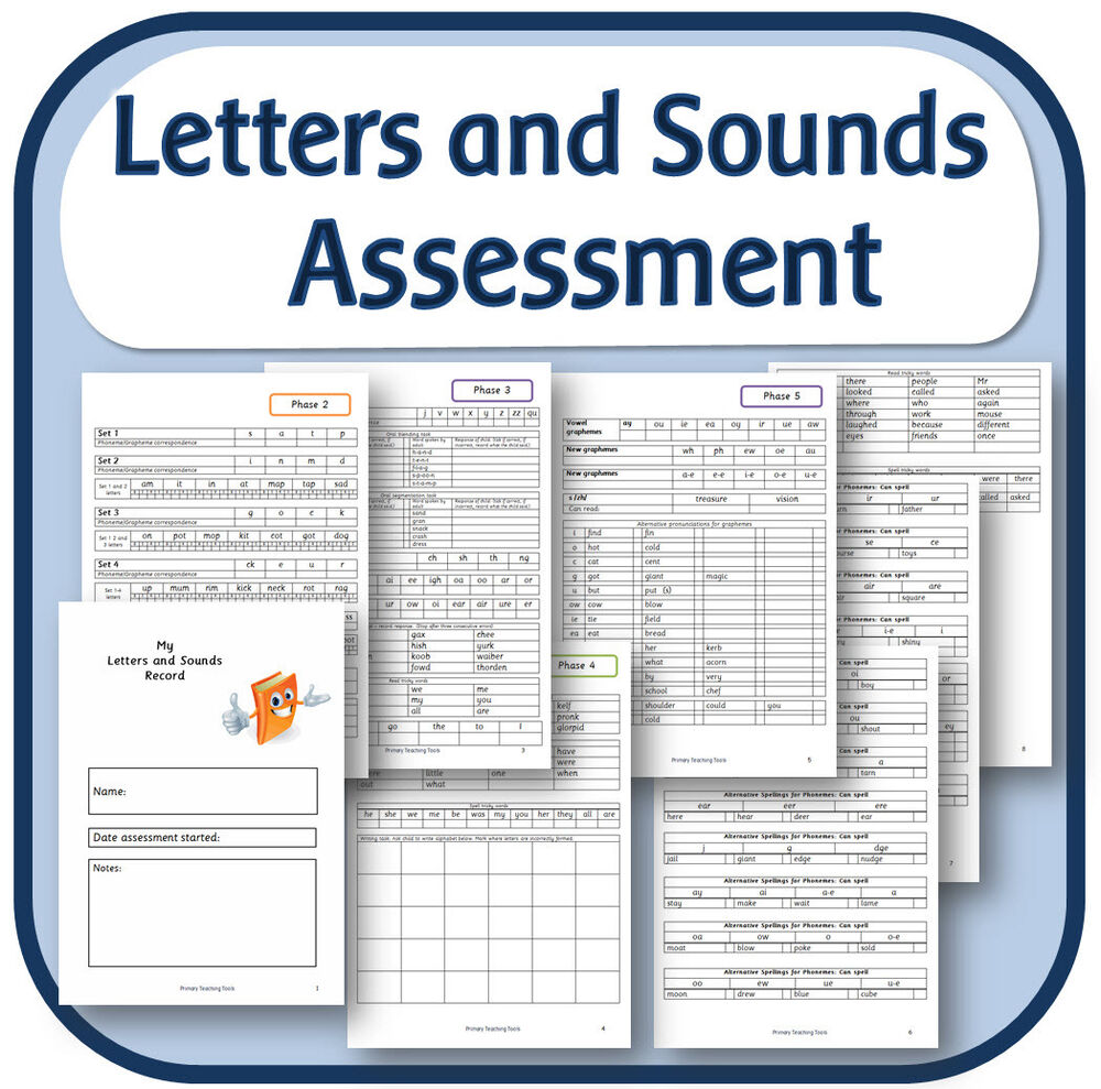 Letters And Sounds Phase  Assessment