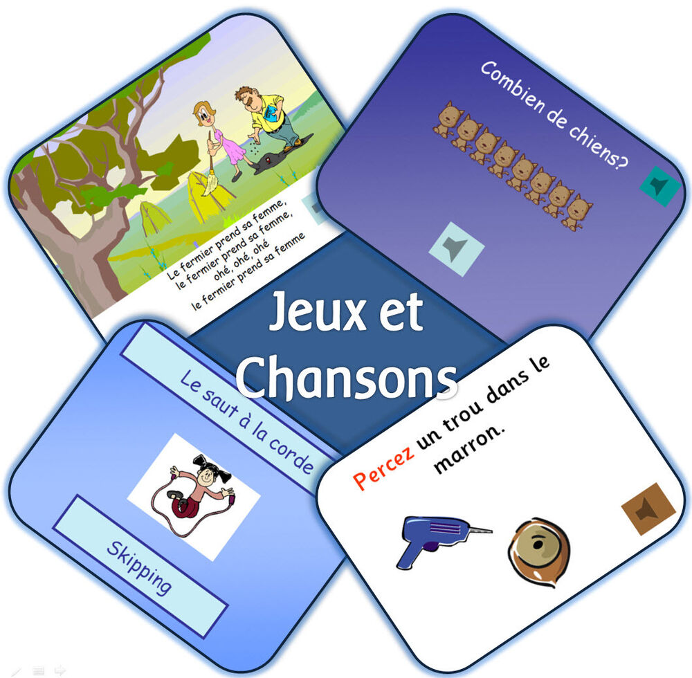 ks2 french mfl unit 2 jeux et chansons primary iwb