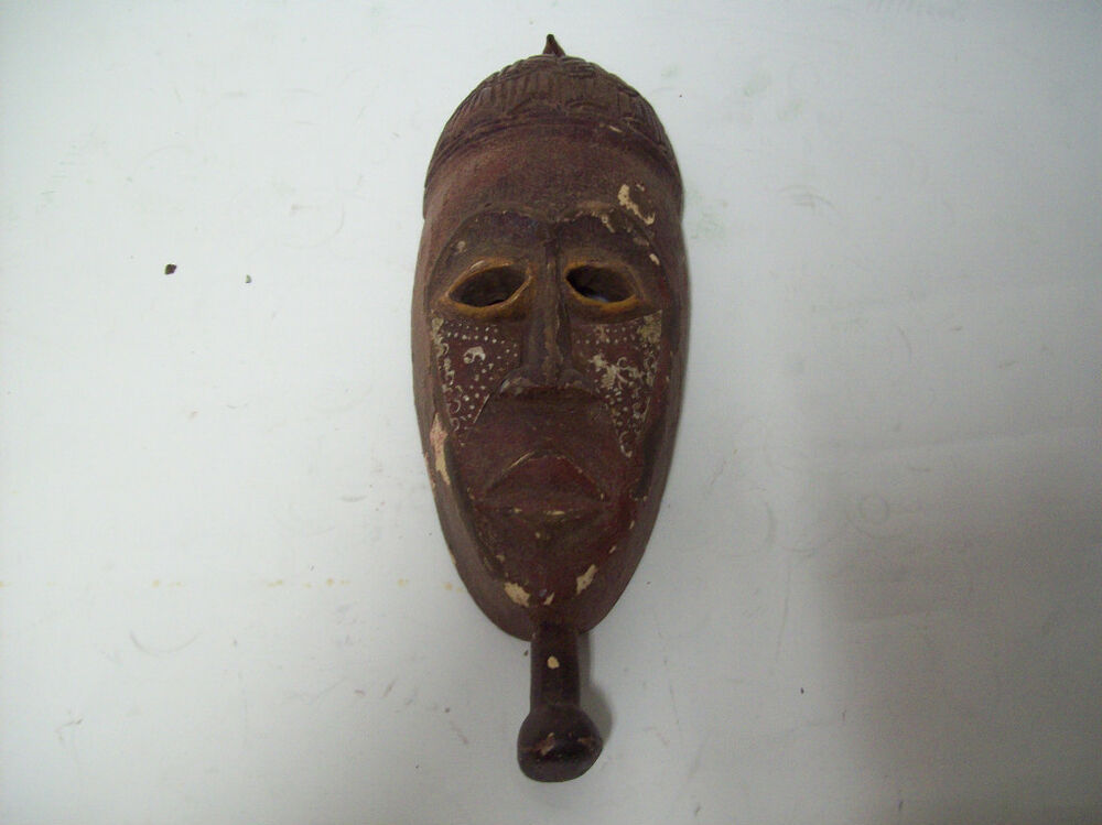 African hand carved tribal mask quot x sg ebay