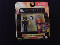 DC Minimates - Wildcat / Golden Age Flash