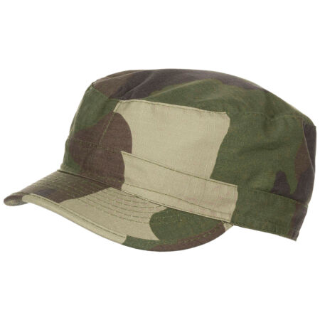 img-BDU STYLE COMBAT FIELD CAP PATROL HAT RIPSTOP COTTON FRENCH CCE CAMOUFLAGE S-XXL