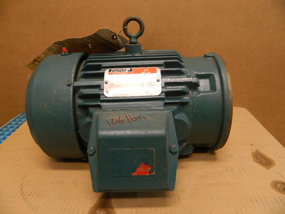 Reliance electric motor xt p18g2569e 3 ph 2 hp 230 volts 5 for 1 hp motor amps