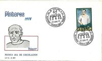 PICASSO - BIRDS - DOVES - ART: FDC COVER - SPAIN 1979