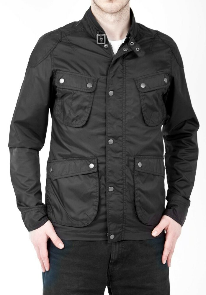 mens smart casual short black coat lightweight winter
