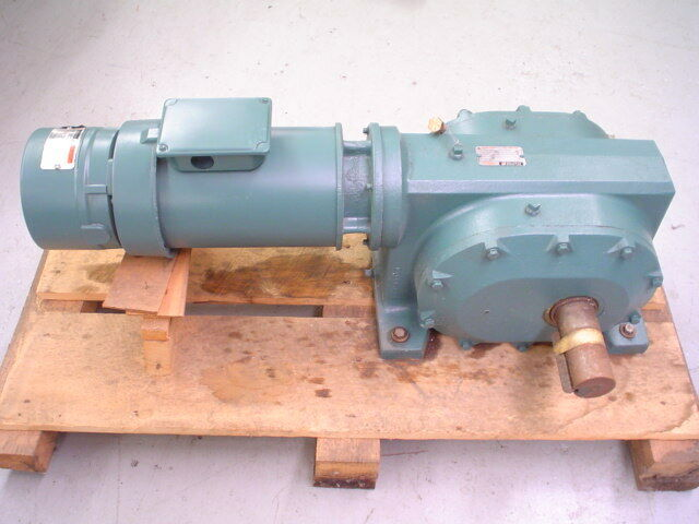 reliance electric master xl gearmotor assembly w unibrake