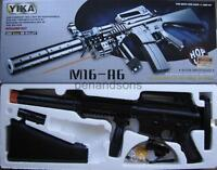 New M16A6 Airsoft Spring Rifle Gun w/6mm bb Light Laser Foregrip Safety Goggles