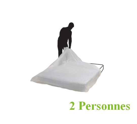 housse protection matelas 2 personnes plastique demenagement neuf ebay. Black Bedroom Furniture Sets. Home Design Ideas