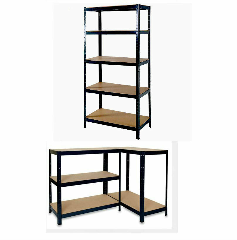 storage shelving unit 5 tier heavy duty boltless metal shelving shelves storage 26895