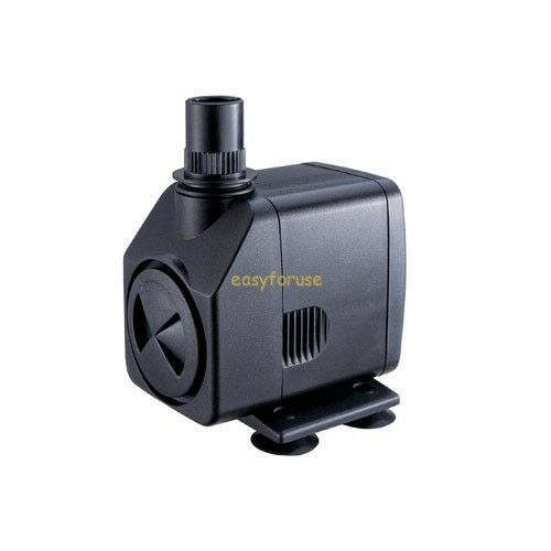 264 gph submersible pump fountain pond waterfall for Pond waterfall pump