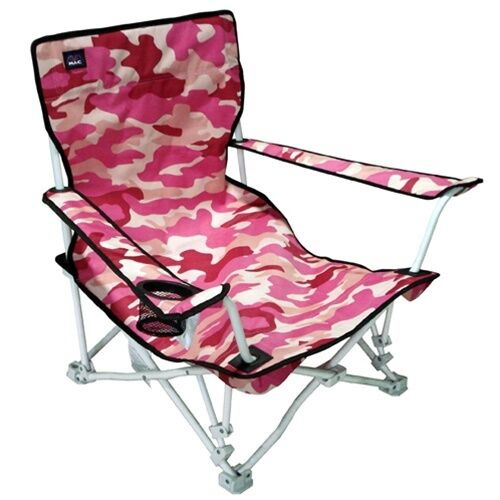 Armrest Sand Seats Folding Beach Chairs Low Seating with Carry Bags