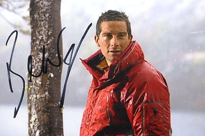 Bear Grylls Signed Autograph 3x5 Photo Man Vs Wild Discovery Channel