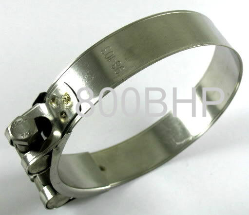 Stainless steel heavy duty hose clamp mm clips