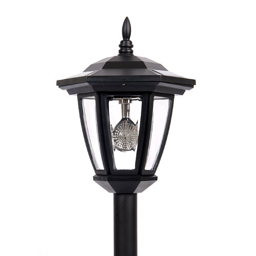 Outdoor Post Lights Led: 6 NEW Outdoor Garden 3-LED Antique Solar Landscape Light