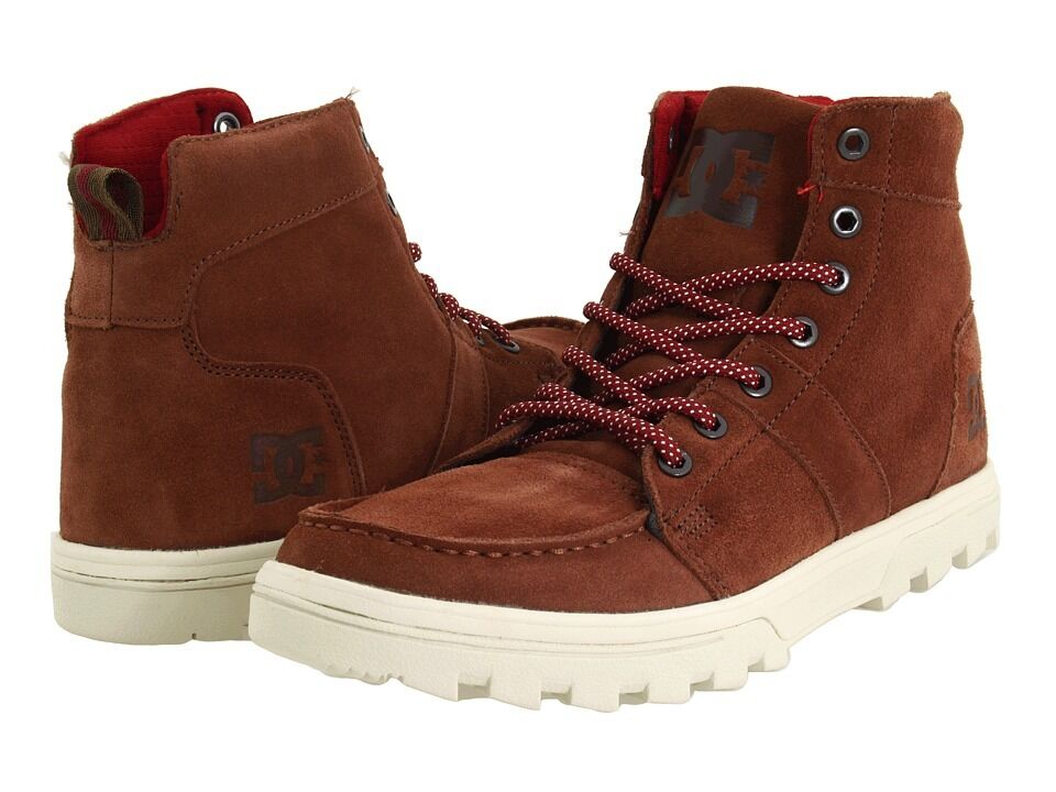 DC - WOODLAND Mens Boots (NEW) Size 7 U0026 7.5 BROWN SUEDE ...