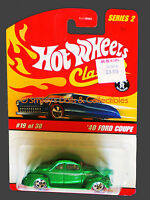 2005 Hot Wheels S2 Classics '40 FORD COUPE Spectraflame GREEN_J2775_MOC NEW
