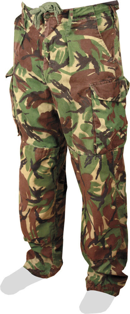 Militaria Jungle Tropical Combat Trousers Dpm Dragon Old Type Army Falklands Military New High Quality Collectibles