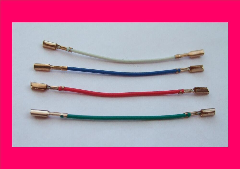 Set of 4 Beryllium Copper Cartridge Tags / Leads for Tone Arms ...