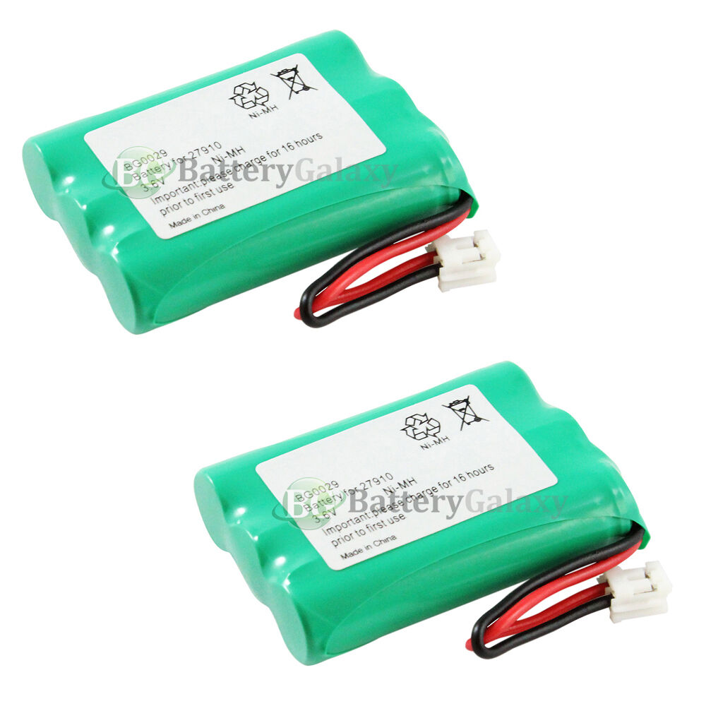 2 new oem bg0029 bg029 cordless home phone rechargeable replacement battery pack ebay. Black Bedroom Furniture Sets. Home Design Ideas