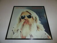 """LEON RUSSELL SIGNED FRAMED """"LIFE AND LOVE"""" ALBUM LP LEGEND RARE"""