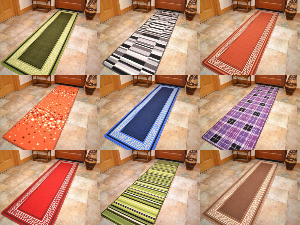 Long Short Narrow Small Door Mats Washable Kitchen Rugs Hall Runners  Utility Mat | EBay
