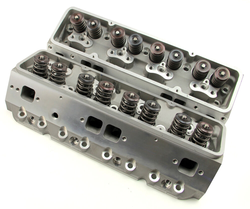 Wrx Cylinder Head Plug: SBC CHEVY COMPLETE ANGLE PLUG ALUMINUM CYLINDER HEADS