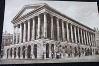 OLD POSTCARD OF TOWN HALL BIRMINGHAM
