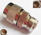 1pcs UHF PL259 Male Plug to N Female Jack Straight RF Connector Adapter New