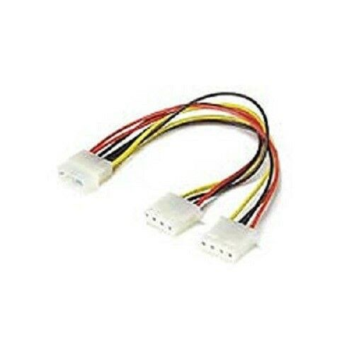 8 Inch 4 Pin Molex Internal Pc Power Splitter Y Cable