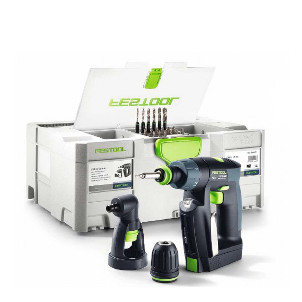 festool akku schrauber akkuschrauber cxs li 1 5 set 564271 deckelfachsystainer ebay. Black Bedroom Furniture Sets. Home Design Ideas